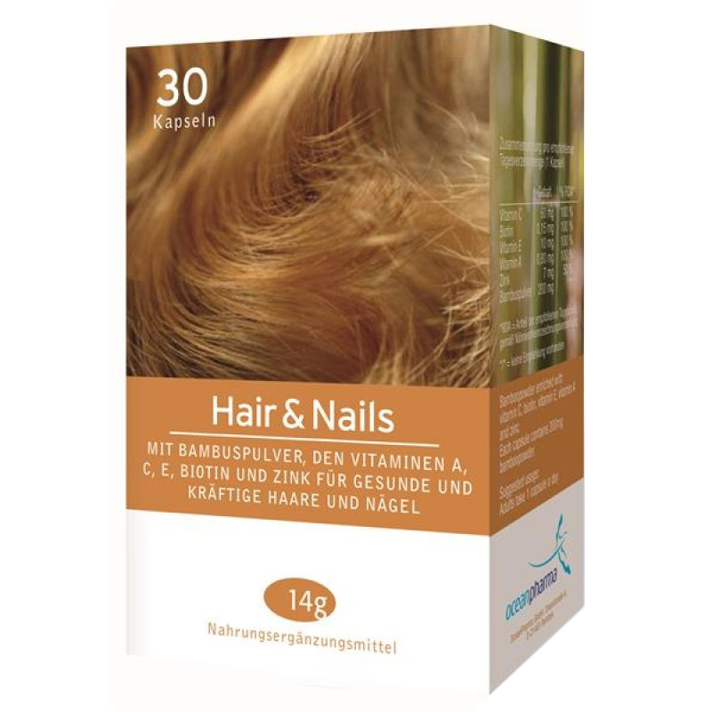 Hair Nails Kapseln Ocean Pharma